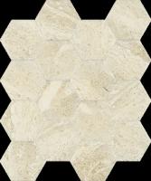 Sunlight Stone Beige Mozaika Hexagon 22x25,5