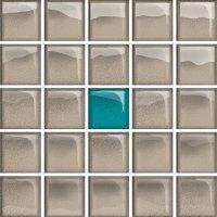 Glass Azure Dark Mosaic A New 14,8x14,8