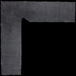 Bazalto Grafit Cokół Schodowy Dwuelementowy Lewy 2x30x8,1