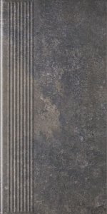Viano Antracite Stopnica Prosta 30x60