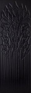 Paradyż Cold Crown Black Struktura 39,8x119,8