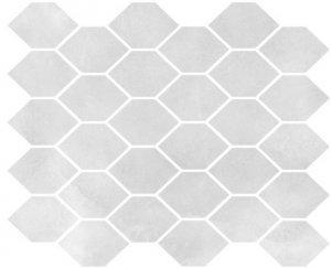 Aquamarina Mozaika Heksagon AQM 12 Poler 27x32