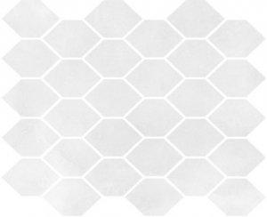 Aquamarina Mozaika Heksagon AQM 01 Poler 27x32