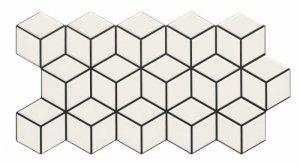 Rhombus Snow 26,5x51