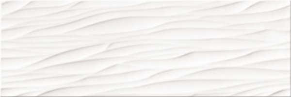 Structure Pattern White Wave Structure 25x75