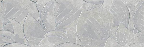 Flower Cemento Light Grey Inserto 24x74