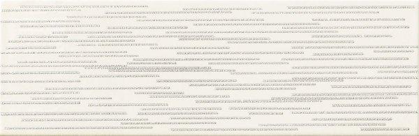 Burano Bar White D Dekor 7,8x23,7