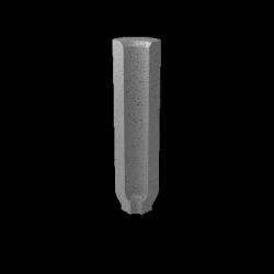 Paradyż  bazo grys profil wewnetrzny sol-pieprz mat. 3x10 g1 szt