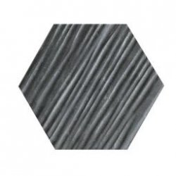 CERAMIKA KONSKIE hexagon graphite relief a7 13x15 szt g1