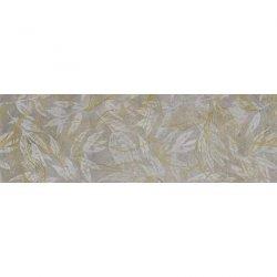 CERRAD gres softcement silver decor flower rect.  1197x297x8 g1 m2