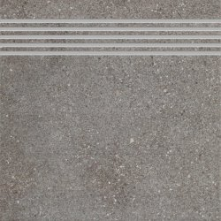 CERAMIKA KOŃSKIE Leo graphite stopnica 33,3x33,3 G1. szt