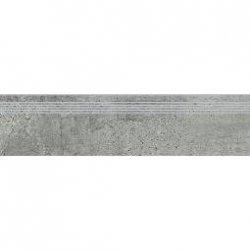 OPOCZNO newstone grey steptread 29,8x119,8