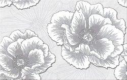 CERSANIT ferrata grey inserto flower 25x40 szt.