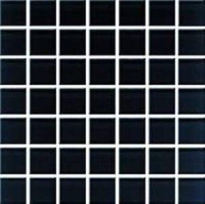 CERAMIKA KONSKIE domenico black glass mosaic 20x20 pcs g1