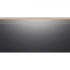 CERRAD cambia black lappato  stopnica nacinana* 597x297x8 g1 szt.