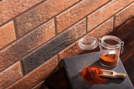 CERRAD elewacja loft brick chili 245x65x8 m2 g1