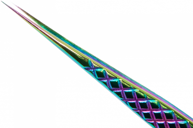 "Pęseta Rainbow "" PROSTA SLIM """