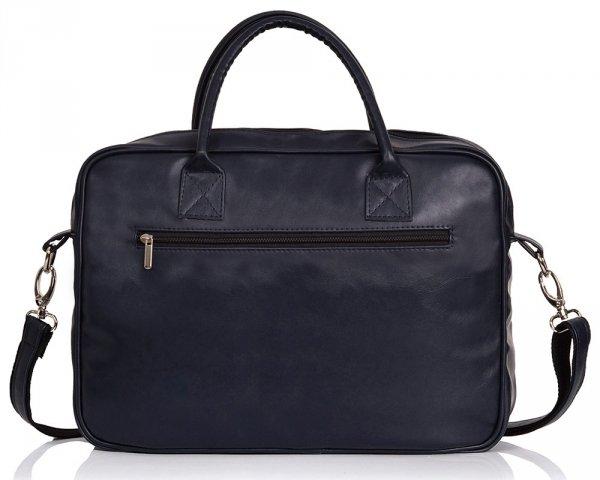 Granatowa torba na laptopa Solome arte 02 tył
