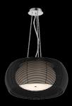NOWOCZESNA LAMPA WISZĄCA CZARNA ZUMA LINE TANGO MD1104-2L