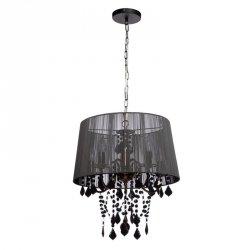 ABAŻUROWA LAMPA WISZĄCA LIGHT PRESTIGE MONA LP-5005/3P czarna