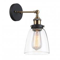 LAMPA KINKIET ITALUX FRANCIS MBM-2563/1 GD+CL