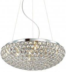 LAMPA WISZĄCA KRYSZTAŁOWA ITALUX SANTO MA04995CA-007