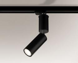 LAMPA SUFITOWA SPOT REFLEKTOR SHIMA 6612 SHILO CZARNA NA SZYNOPRZEWODZIE