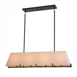 NOWOCZESNA LAMPA SUFITOWA COSMO LIGHT STOCKHOLM P04643BK AU