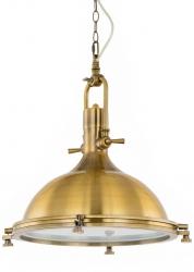 ITALUX MADISON LAMPA WISZĄCA ANTYCZNY BRĄZ INDUSTRIALNA