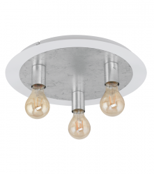 EGLO PASSANO 97495 LAMPA SUFITOWA SPOT SREBRNA