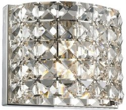 ZUMA LINE CELINE WALL W0260-01A-B5RL (SMOKE) LAMPA WEWNĘTRZNA KINKIET