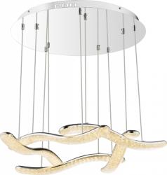 LAMPA WISZĄCA GLOBO NABRO 67833-60H SREBRNY