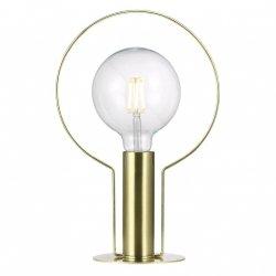 LAMPA STOŁOWA VINTAGE NORDLUX DEAN 46615025 ZŁOTA