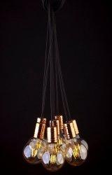 LAMPA WISZĄCA ZWIS NA ŻARÓWKĘ KABEL NOWODVORSKI CABLE BLACK COPPER 9746 LOFT VINTAGE