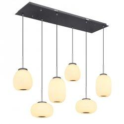 NOWOCZESNA LAMPA SUFITOWA WISZĄCA  LED GLOBO BOOMER 15437H4
