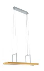EGLO TONDELA 96959 LAMPA WISZĄCA DREWNIANA BELKA LED 13,6W