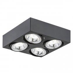 NOWOCZESNY SPOT SUFITOWY LED ARGON RODOS 1573 4x5W