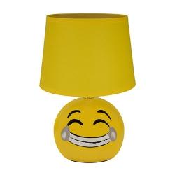 LAMPA STOŁOWA ŚMIECH EMO 00003 IDEUS ŻÓŁTA