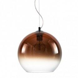 NOWOCZESNA LAMPA WISZĄCA ITALUX NAMELO W MIEDZI DYMIONEJ PND-8332-350-CP