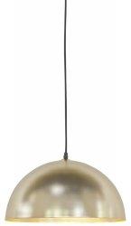 LAMPA WISZĄCA CANNES ZŁOTA 40X23CM