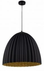NOWOCZESNA LAMPA SUFITOWA SIGMA TELMA BLACK-GOLD 32020