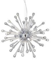 NOWOCZESNA LAMPA WISZĄCA PAULINE SP8 IDEAL LUX W STYLU GLAMOUR