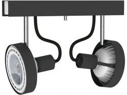LAMPA SUFITOWA SPOT CROSS GRAPHITE 9597 NOWODVORSKI