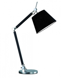 AZZARDO ZYTA TABLE MT2300-S BK LAMPA STOŁOWA BIURKOWA