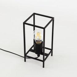 LAMPKA STOŁOWA MELANDO ITALUX TB-3343-1S-BK LOFT