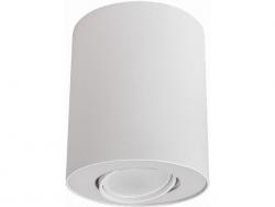 LAMPA NOWODVORSKI SET 8895 OPRAWA SUFITOWA TUBA BIAŁA NOWOCZESNA