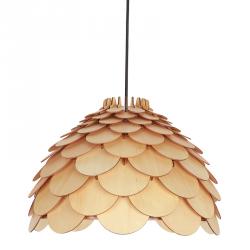 DREWNIANA LAMPA WISZĄCA LIGHT PRESTIGE BURGO LP-101335/1P S