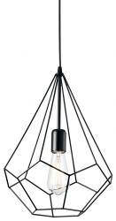 LAMPA WISZĄCA AMPOLLA-3 SP1 IDEAL LUX LOFT CZARNY