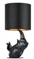 NOWOCZESNA LAMPA STOŁOWA GLAMOUR MAYTONI NASHORN MOD470-TL-01-B