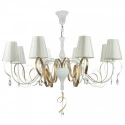 NOWOCZESNA LAMPA SUFITOWA GLAMOUR MAYTONI INTRECCIO ARM010-08-W